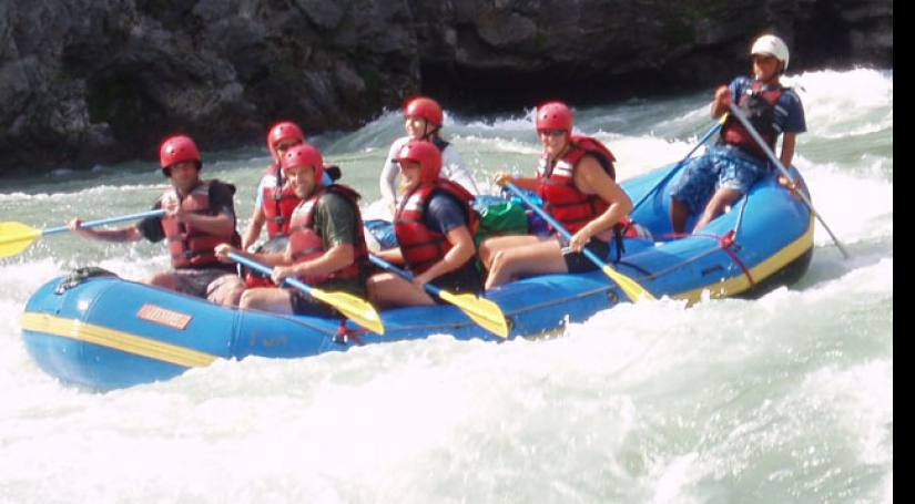Rafting in Nepal Trishuli River