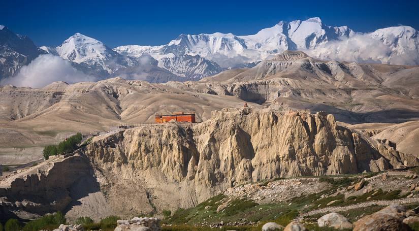 Namgyal Monastery<>Upper Mustang Trekking